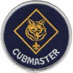 Cubmaster shoulder patch